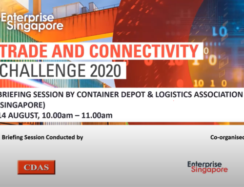 Trade and Connectivity Challenge 2020 Briefing: CDAS Seeks Solutions for Automated Inspection of Shipping Containers at Container Depots