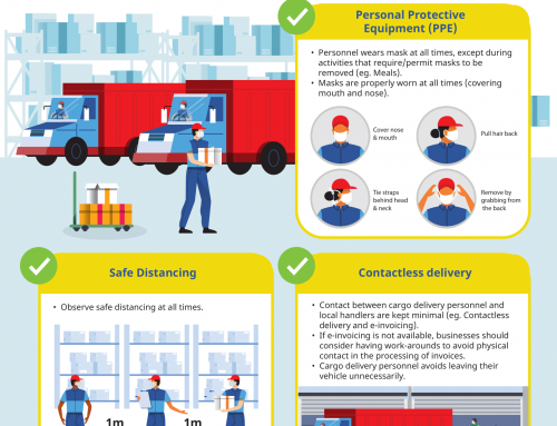 Advisory on COVID-19 Precautions for Businesses Receiving Deliveries