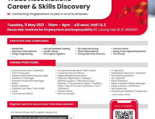 SGUnited Career & Skills Discovery Fair – Supported by CDAS