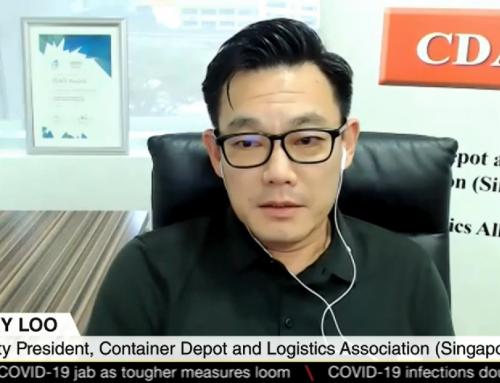 CDAS Deputy President Interview with Mediacorp Regarding Singapore Trade Data Exchange (SGTraDex)