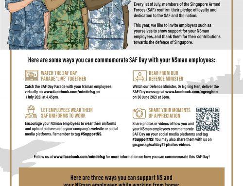 Celebrating Singapore Armed Forces (SAF) Day 2021
