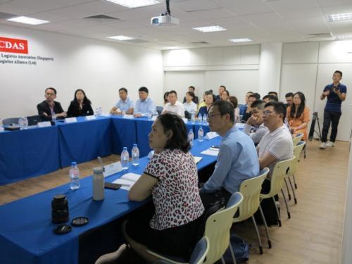 Presentation to Hainan Delegates
